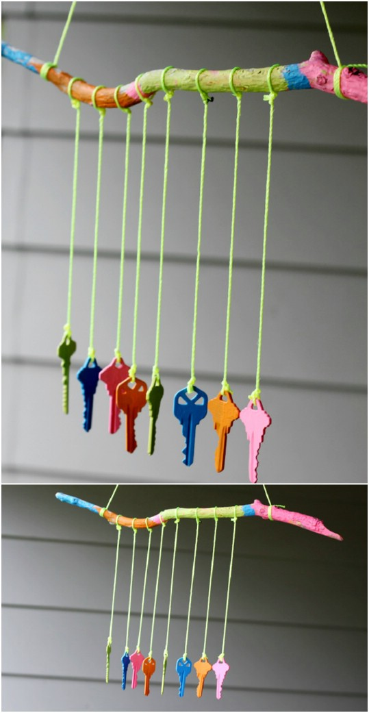 16 Soothing DIY Wind Chime Ideas Youll Want To Make Right Now
