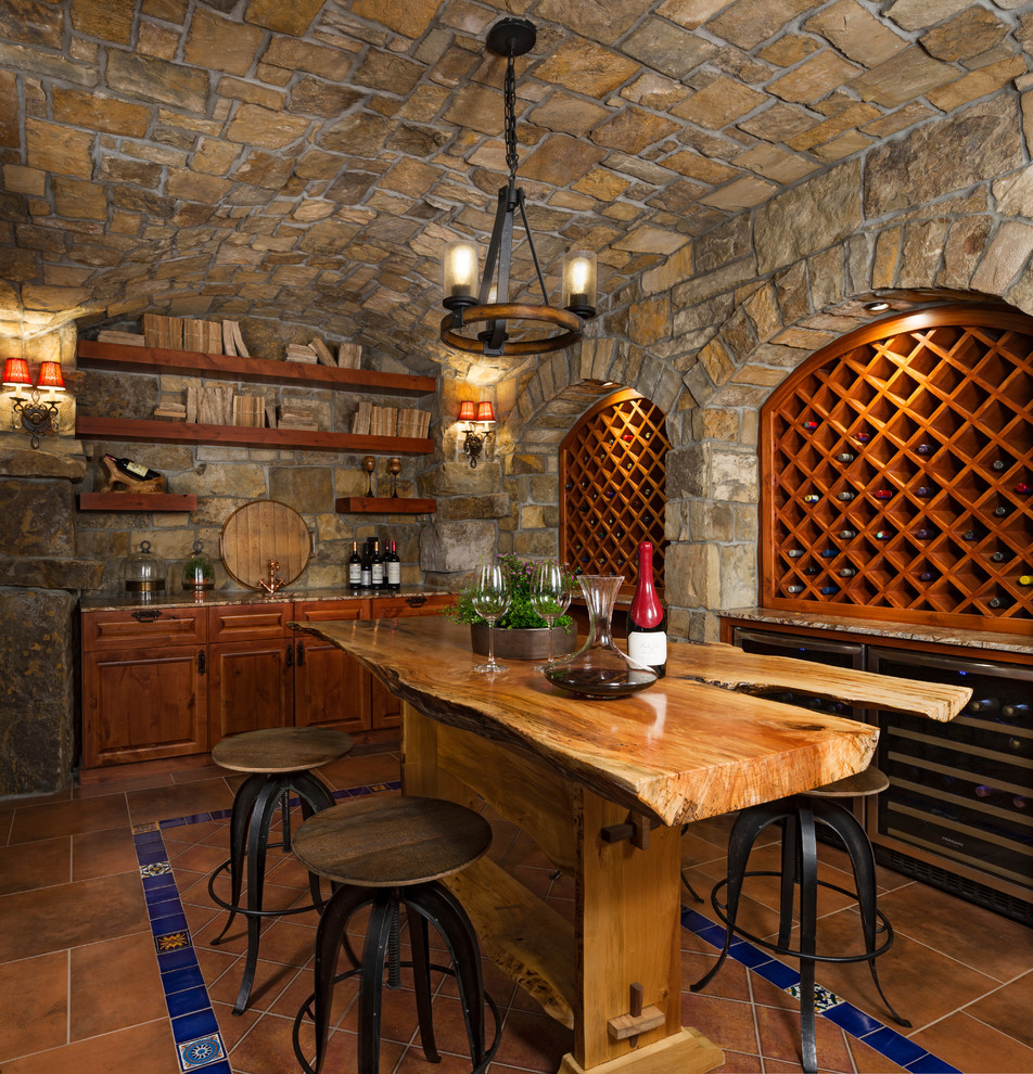 12 Awesome Living Room Designs: 18 Extravagant Rustic Wine Cellar Designs That Will Make