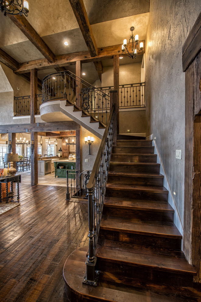 20 Graceful Rustic Staircase Designs You Re Going To Love