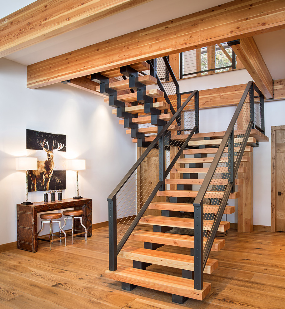 20 Unusual Interior Decorating Ideas For Wooden Stairs: 20 Graceful Rustic Staircase Designs You're Going To Love