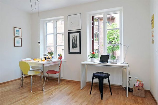 The Advantages Of The Small Living Spaces