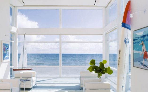 Beach Road 2 Residence by Hughes Umbanhowar Architects in Florida, USA
