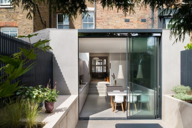 Highbury House Extension by Architecture for London in Highbury, London