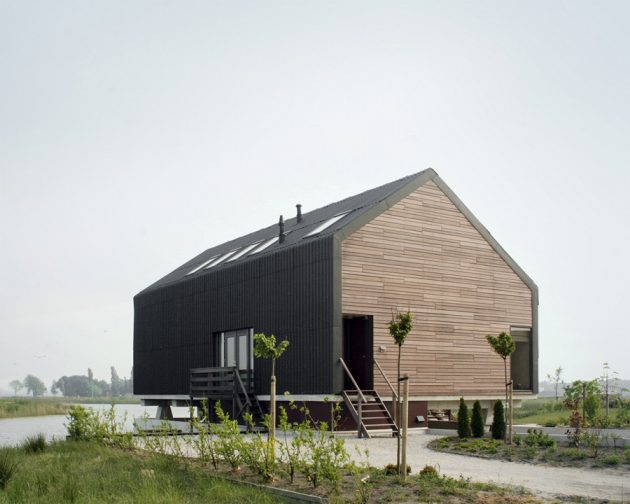 House Dijk by Jager Janssen architecten in Blauwestad, The Netherlands