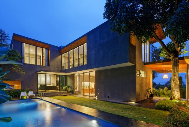 Inside Outside House by Tamara Wibowo Architects in Semarang, Indonesia
