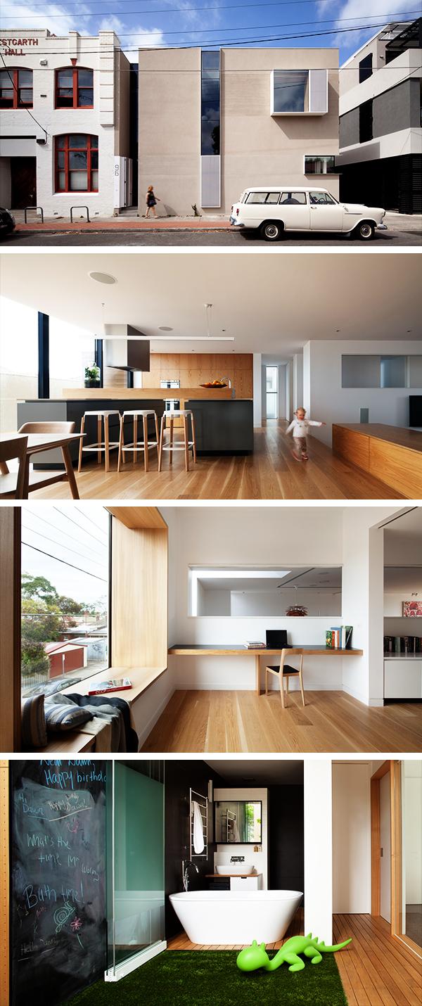 Northcote 2 Residence by Pleysier Perkins in Melbourne, Australia