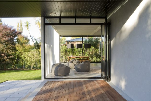 Rutherford House by Tim Dorrington in Tauranga, New Zealand