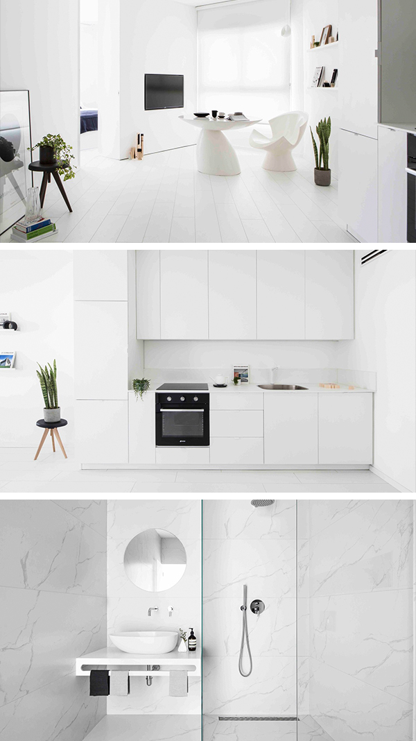 S|H Apartment by Yael Perry in Tel Aviv, Israel