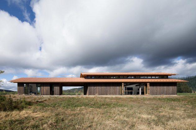 Trout Lake House by Olson Kundig in Washington, USA