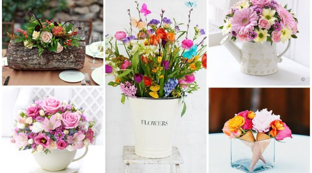17 Excellent DIY Floral Arrangements To Welcome The Spring In Your Home