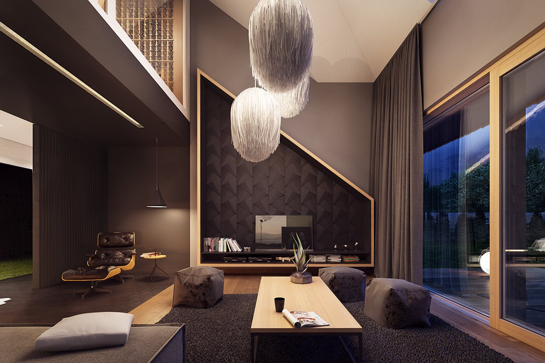 Popular Modern Luxury Loft Design