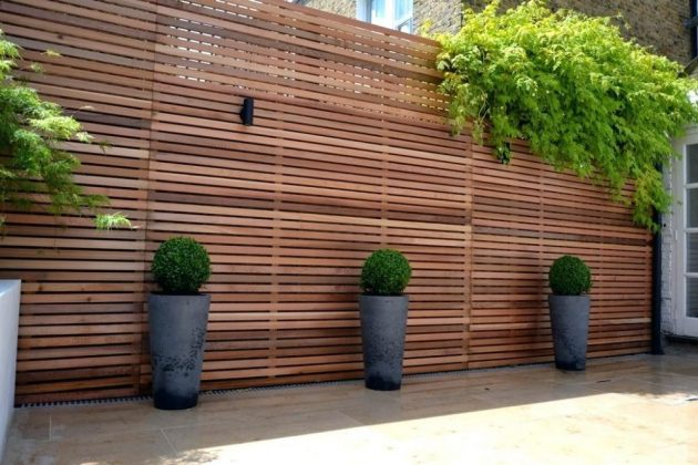 19 Wooden Fence Ideas To Match Your Modern Style
