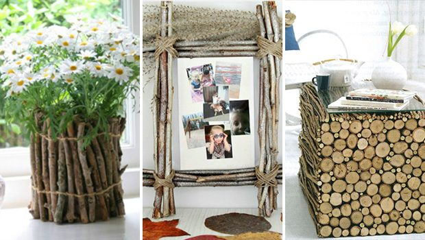 15 Inexpensive DIY Decor Projects Made Using Twigs And Sticks