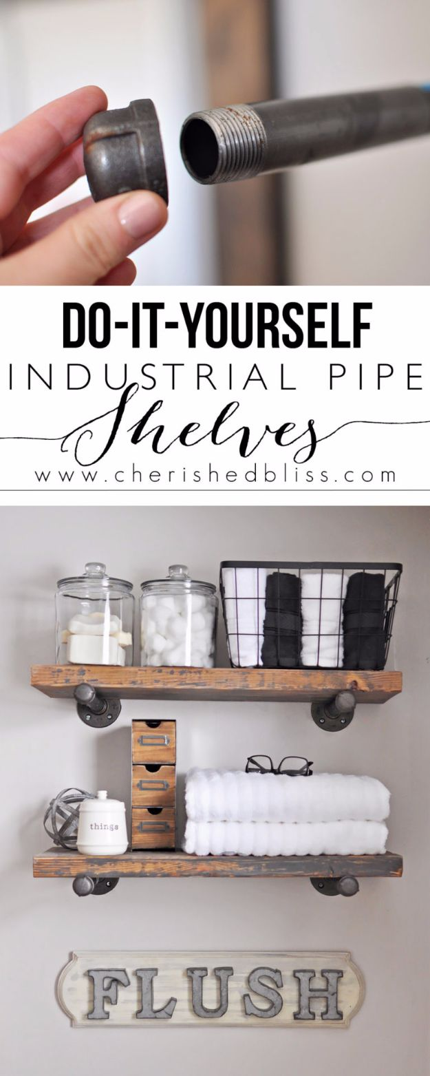 15 Simple Yet Effective DIY Bathroom Storage And Organization Ideas