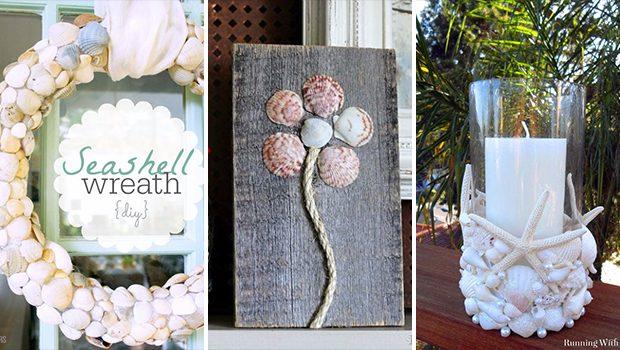 15 Wonderful DIY Seashell Decor Ideas You Can Make This Summer