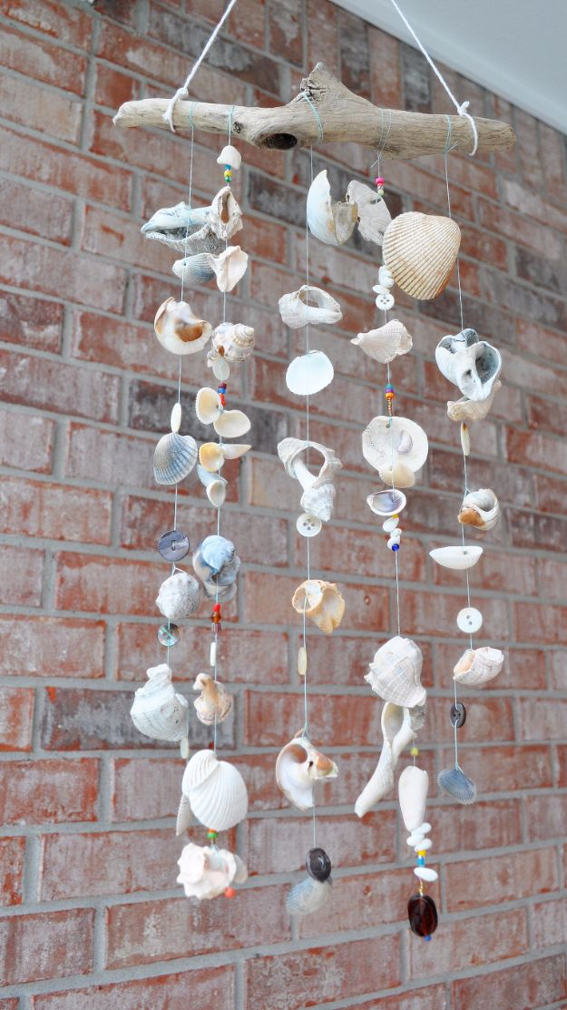 15 Wonderful DIY Seashell Decor Ideas You Can Make This Summer