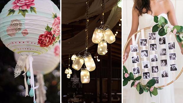 16 Cute DIY Wedding Decor Ideas That Will Save You A