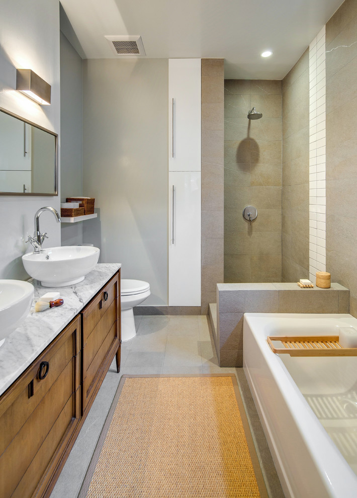 16 Marvelous Contemporary Bathroom Designs You Need To See