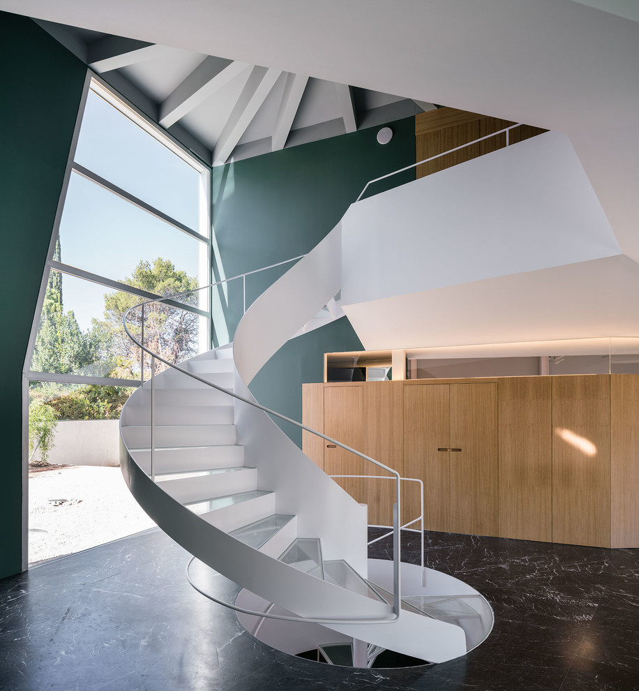 16 Phenomenal Contemporary Staircase Designs That Will