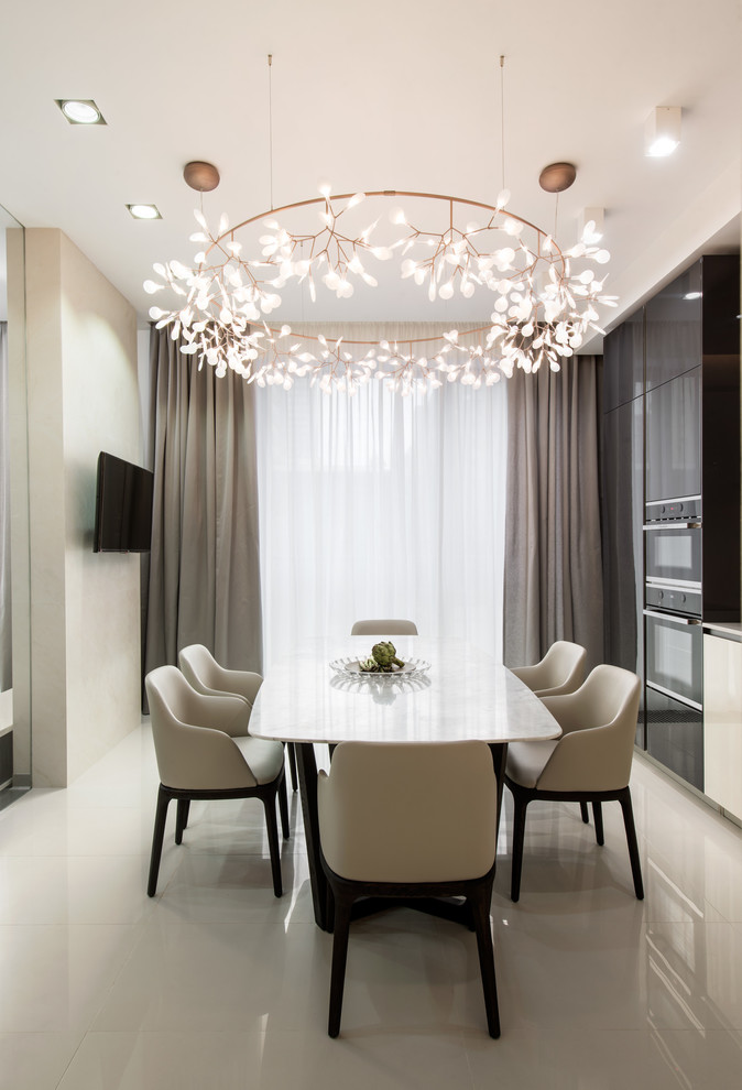 17 Compulsive Contemporary Dining Room Interiors You'll Adore