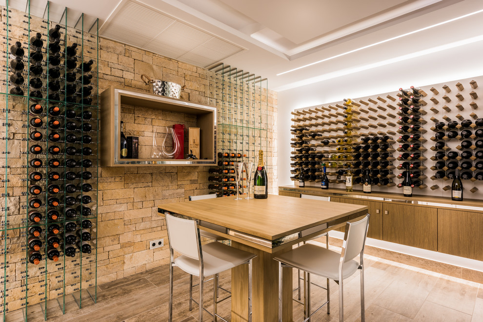17 Contemporary Wine Cellar Designs That Will Add A Touch ...