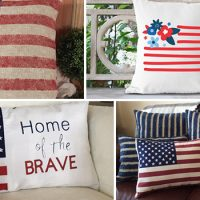 18 Decorative Handmade 4th of July Pillow Designs You'll Love