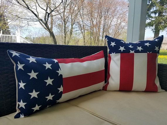18 Decorative Handmade 4th of July Pillow Designs Youll Love