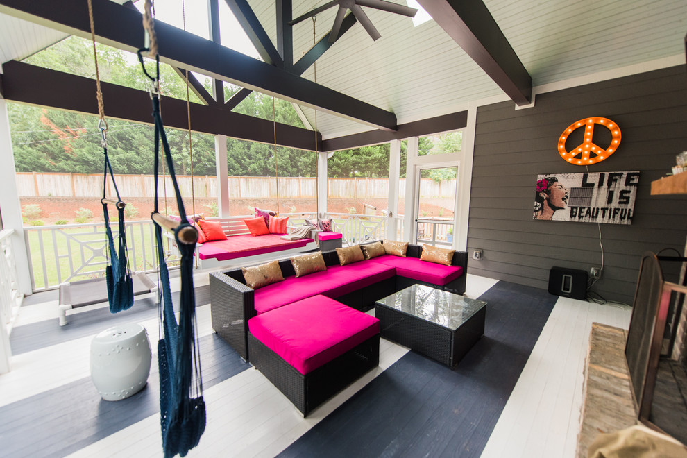 18 Glorious Contemporary Porch Designs Every Home Needs
