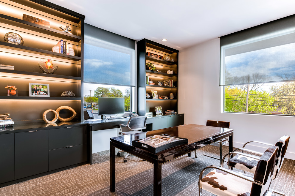 18 Stunning Contemporary Home Office Designs That Will ...