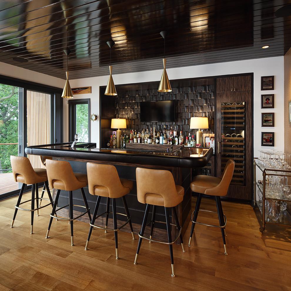 Home Design Bar Ideas: 20 Glorious Contemporary Home Bar Designs You'll Go Crazy For