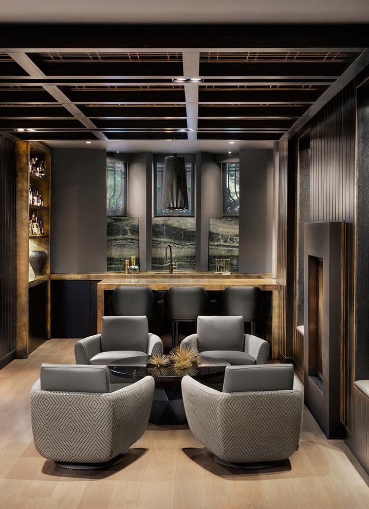 20 Glorious Contemporary Home Bar Designs You'll Go Crazy For