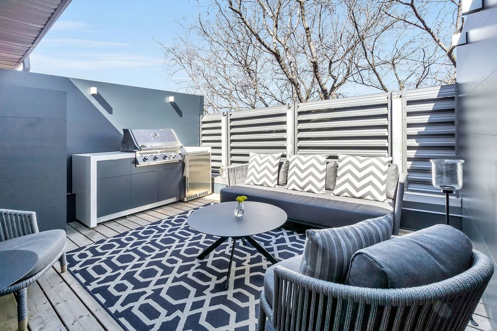 20 Phenomenal Contemporary Deck Designs You'll Fall In Love With
