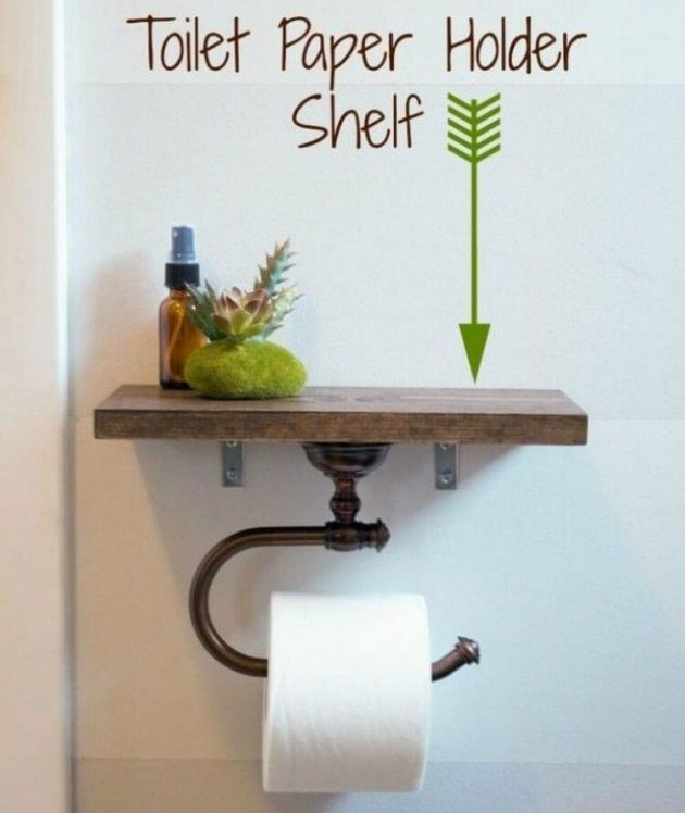 16 Really Cool Ways To Store Toilet Paper In The Bathroom