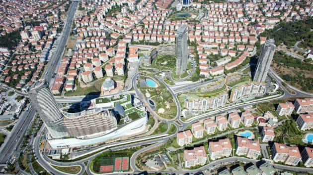 A Green Life Complex By Evrenol Architects: Akasya Acıbadem