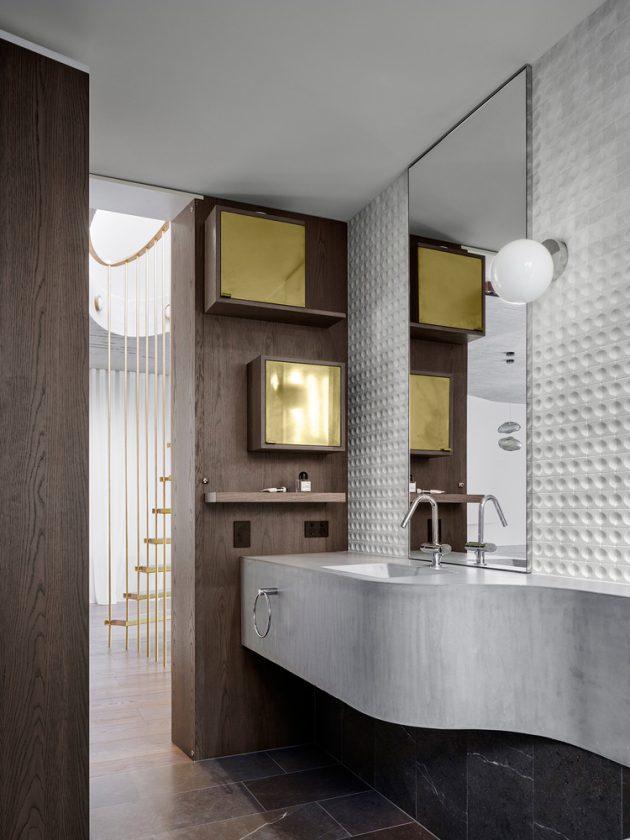 Books House by Luigi Rosselli Architects in Mosman, Australia