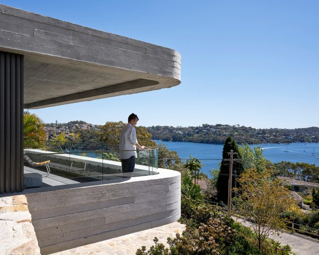 Books House by Luigi Rosselli Architects in Mosman, Australia