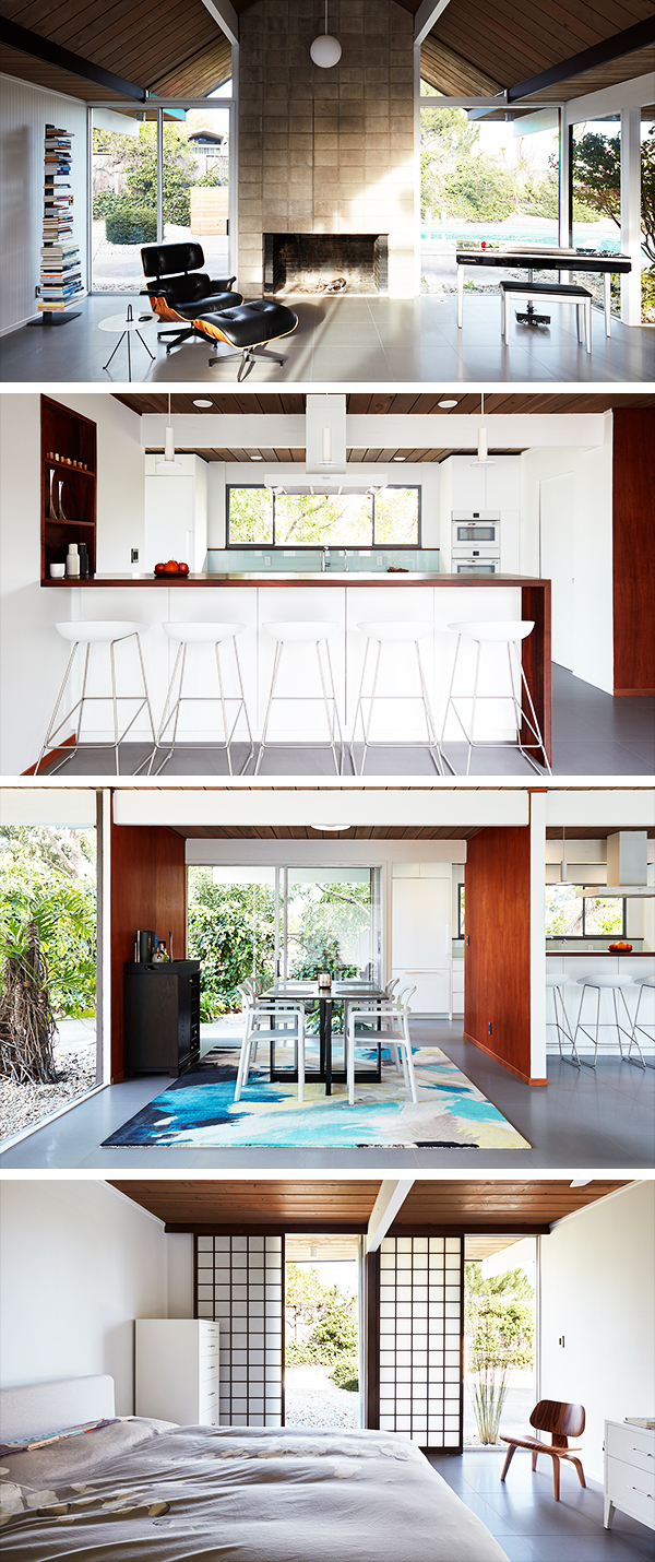 Burlingame Eichler Remodel by Klopf Architecture in California, USA