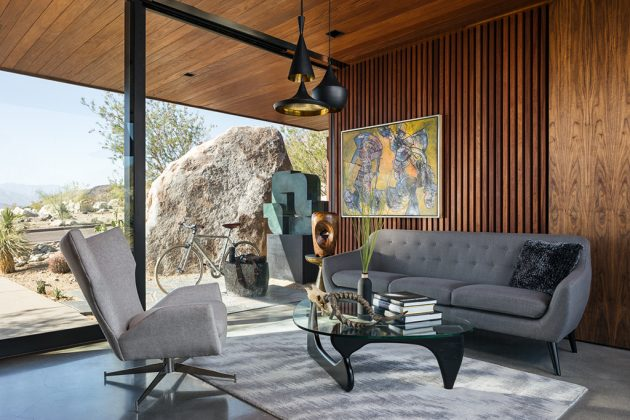 Desert Palisades Guardhouse by Studio AR&D Architects in Palm Springs, California
