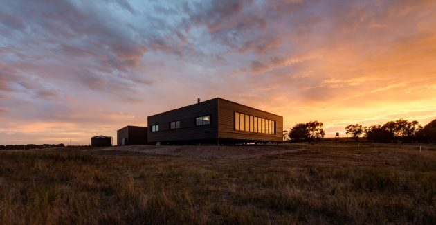 French Island Pre Fab by Lai Cheong Brown in Victoria, Australia