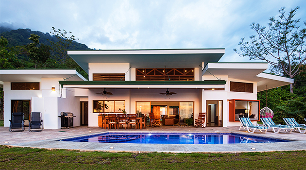 Hamann House by INTRIBE Architects in Puntarenas, Costa Rica