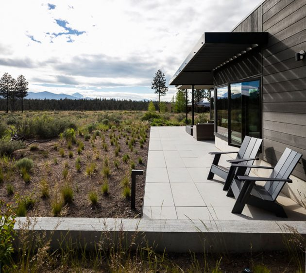 High Desert Modern by DeForest Architects in Bend, Oregon