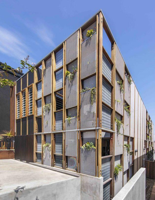 Living Screen House by CplusC Architectural Workshop in North Bondi, Australia