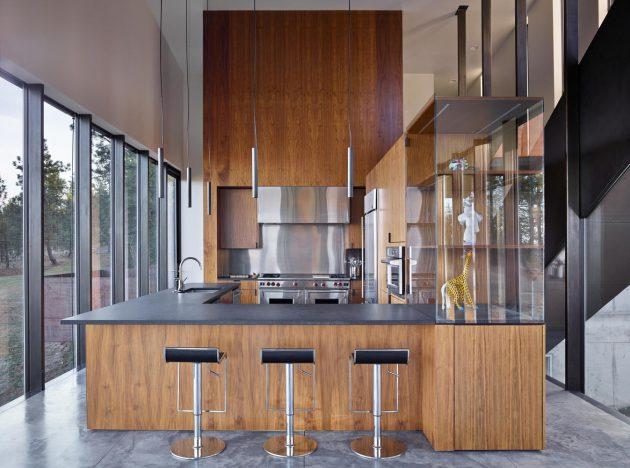 Rimrock Residence by Olson Kundig in Spokane, Washington