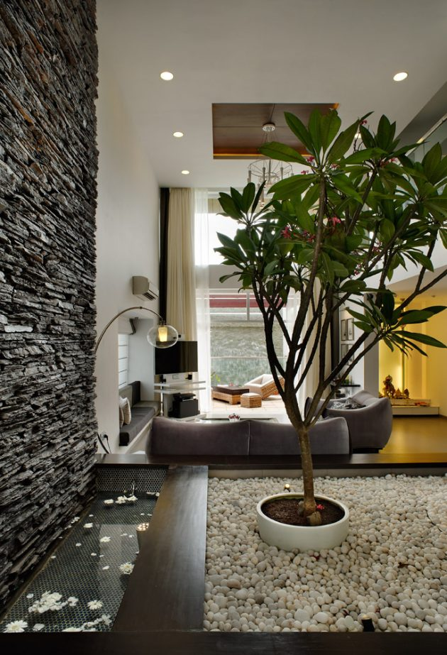 Tall House by Sunil Patil & Associates in Pune, India