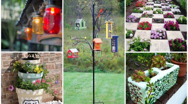 19 Superb DIY Outdoor Decorations That Are Worth Your Time