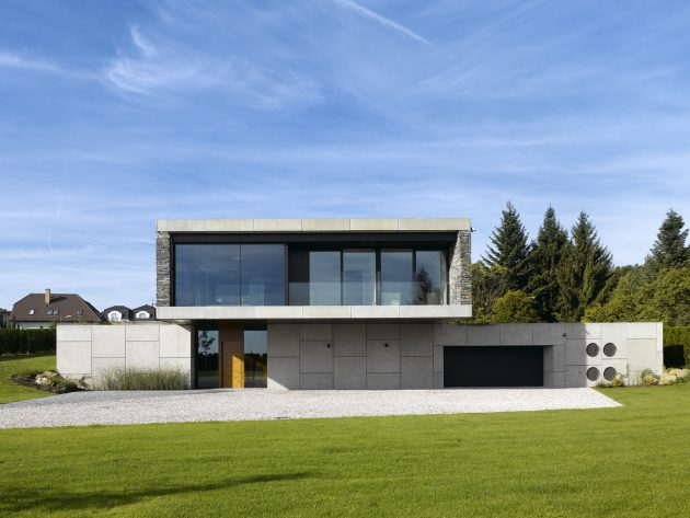 Villa Řitka by Studio Pha in Řitka, Czech Republic
