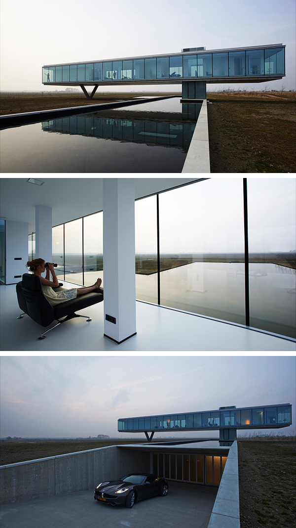 Villa Kogelhof by Paul de Ruiter Architects in The Netherlands