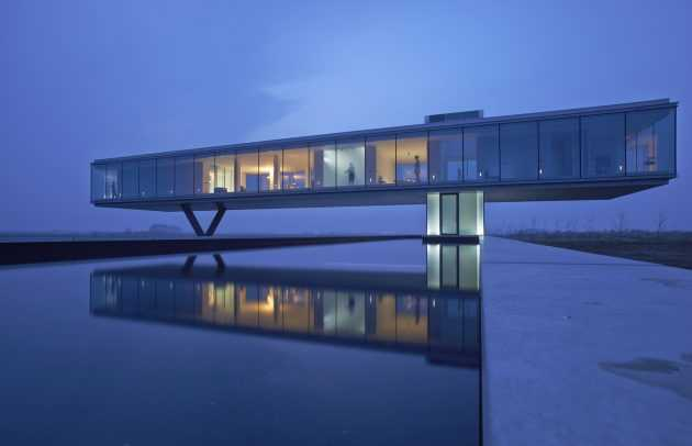 Villa Kogelhof by Paul de Ruiter Architects in The Netherlands