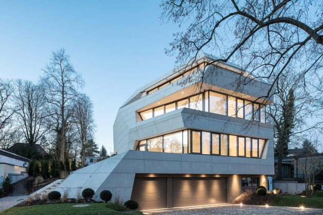 Villa M by GRAFT Architects in Berlin, Germany