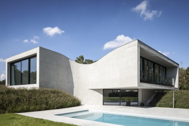 Villa MQ by Office O Architects in Tremelo, Belgium